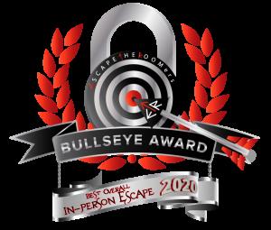 Bullseye Award best in-Person Escape 2020